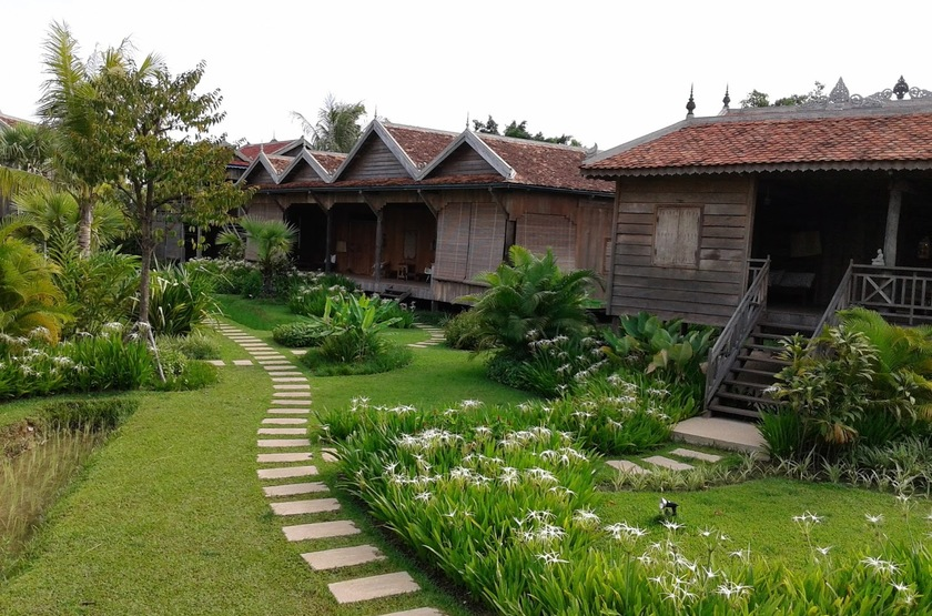 Sala Lodges, Siem Reap, Cambodge, jardins