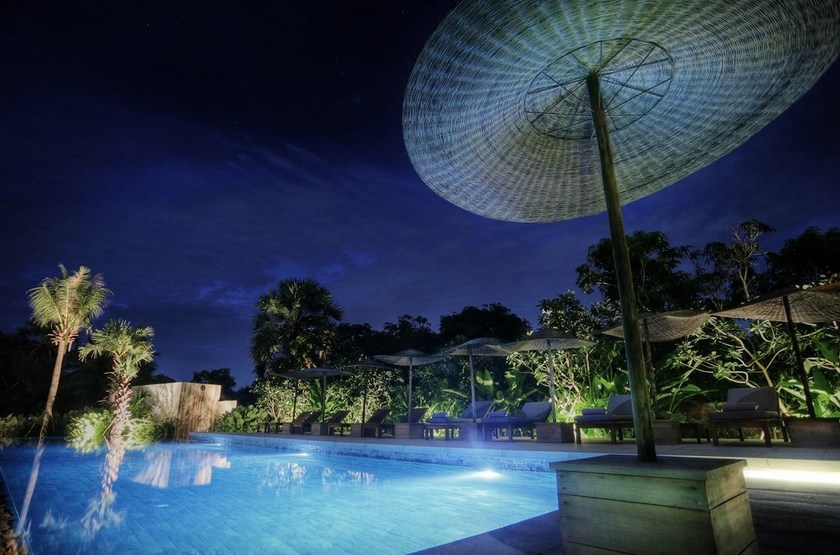 Sala Lodges, Siem Reap, Cambodge, Piscine