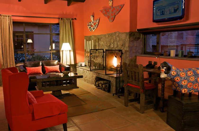 Sol Y Luna Lodge & Spa, Vallée Sacrée, Urubamba, Pérou, salon
