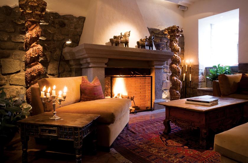 Casona Inkaterra, Cusco, Pérou, salon