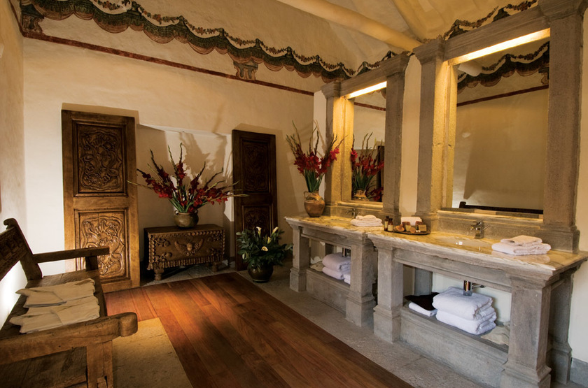 Casona Inkaterra, Cusco, Pérou, salle de bains