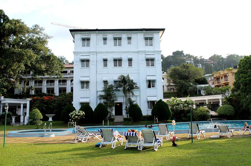 Suisse Hotel, Kandy, piscine