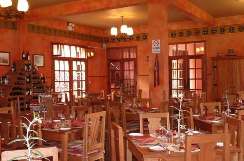 Pakaritampu Hotel, Ollantaytambo, Vallée Sacrée, Pérou, restaurant
