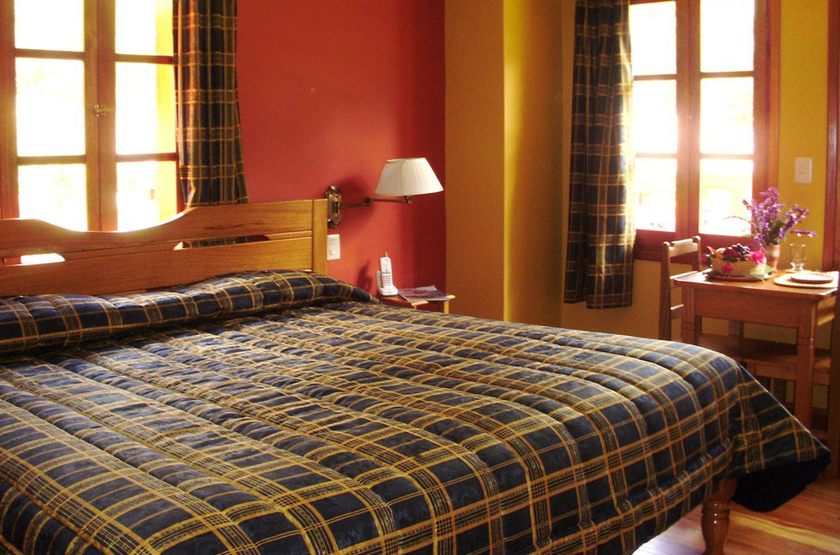 Pakaritampu Hotel, Ollantaytambo, Vallée Sacrée, Pérou, chambre
