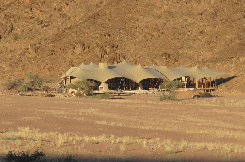 Hoanib Skeleton Coast Camp, Namibie, extérieur