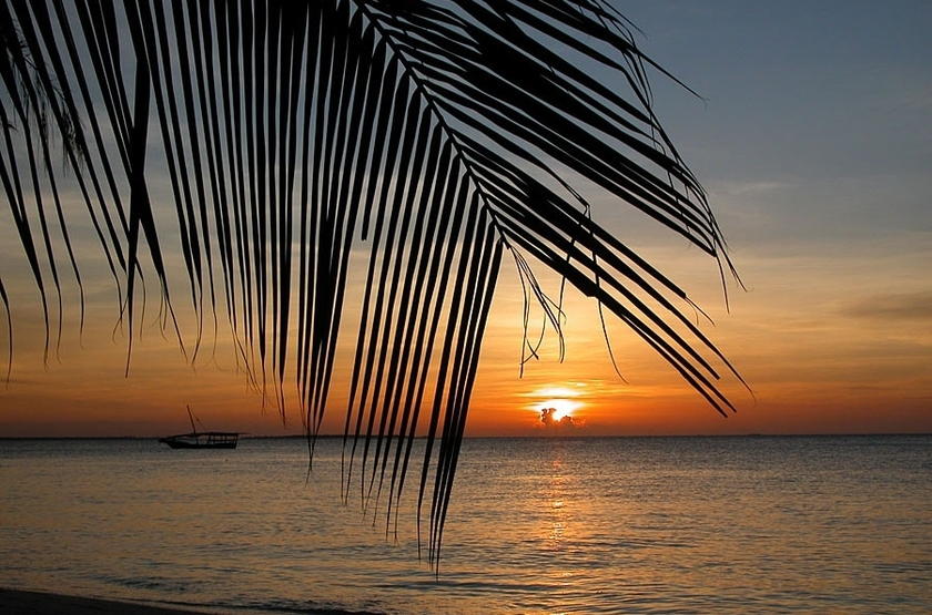 Bahari View Lodge, Zanzibar, sunset