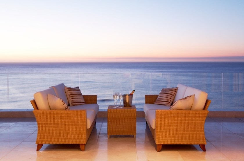 The Clarendon Bantry Bay, Cape Town, Afrique du Sud, terrasse