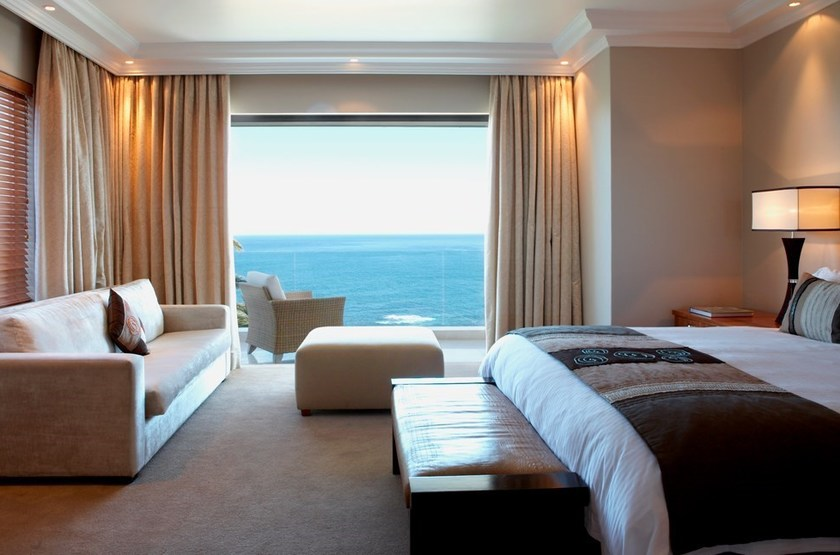 The Clarendon Bantry Bay, Cape Town, Afrique du Sud, chambre terrasse
