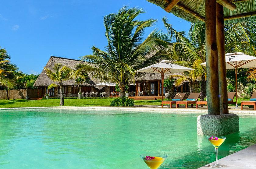 Bahia Mar Boutique Hotel, Bazaruto, Mozambique, piscine