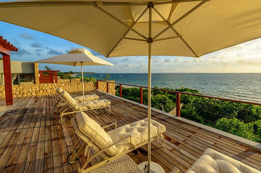 Bahia Mar Boutique Hotel, Bazaruto, Mozambique, terrasse
