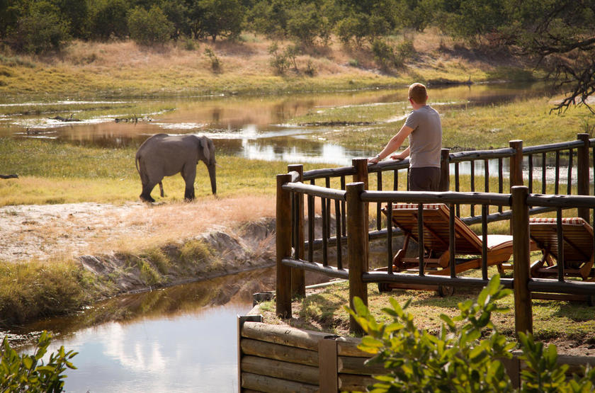 Belmond Savute Elephant Lodge, Chobe Park, Botswana, point de vue