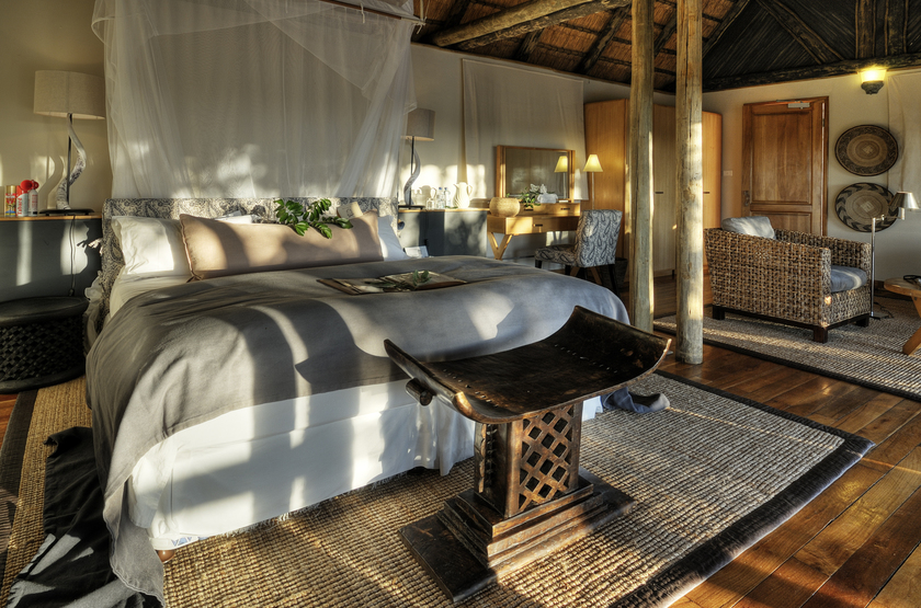 Savute safari lodge bedroom slideshow