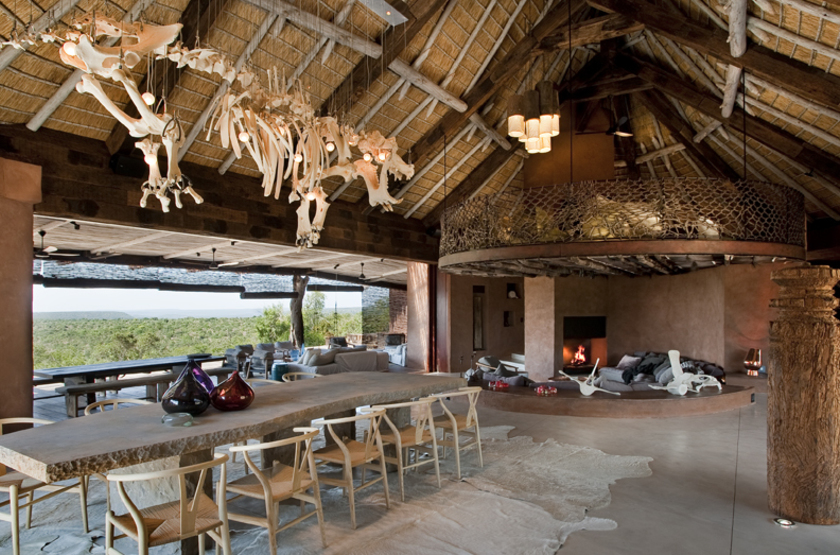 The Observatory, Leobo Private Reserve, Afrique du Sud, salon