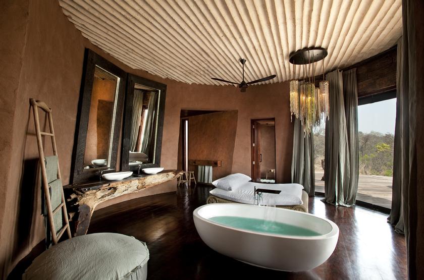 The Observatory, Leobo Private Reserve, Afrique du Sud, salle de bains