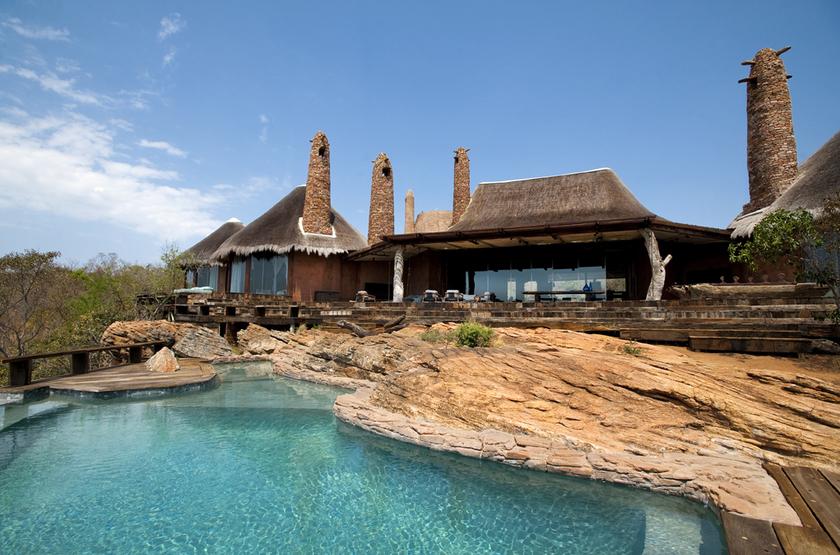 The Observatory, Leobo Private Reserve, Afrique du Sud, piscine