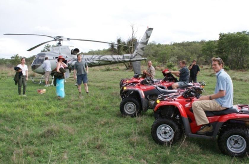 The Observatory, Leobo Private Reserve, Afrique du Sud, quad