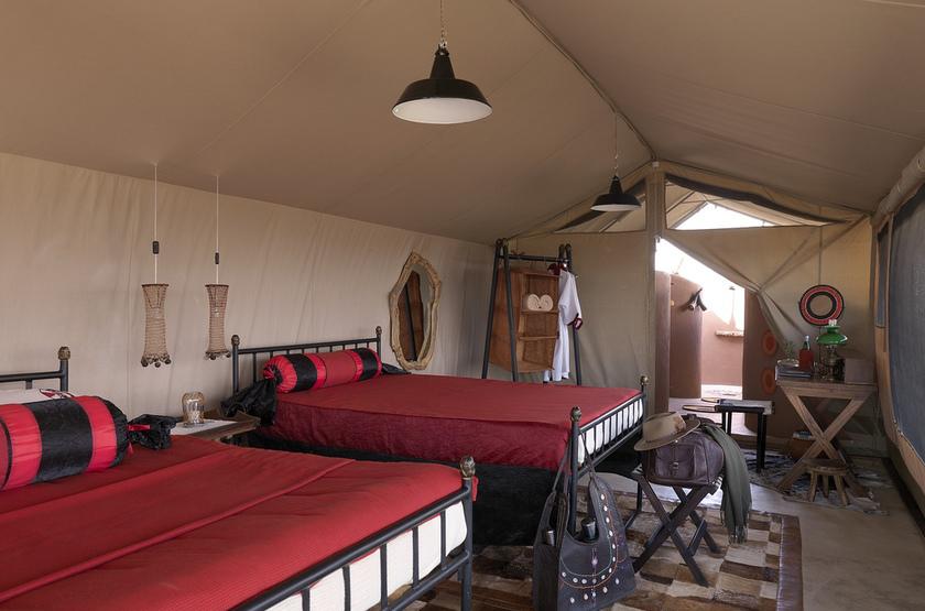 Shu'Mata, South Amboseli, Tanzanie, chambre