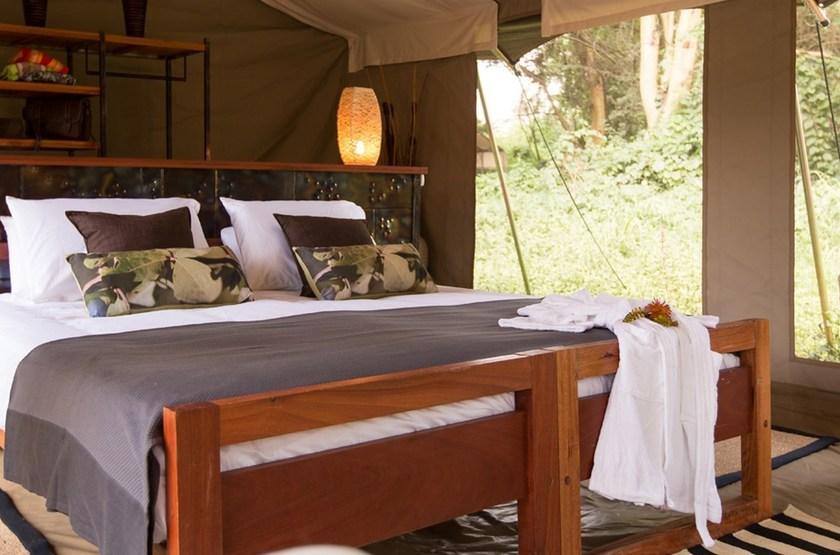 Namiri Plains, Serengeti, Tanzanie, chambre