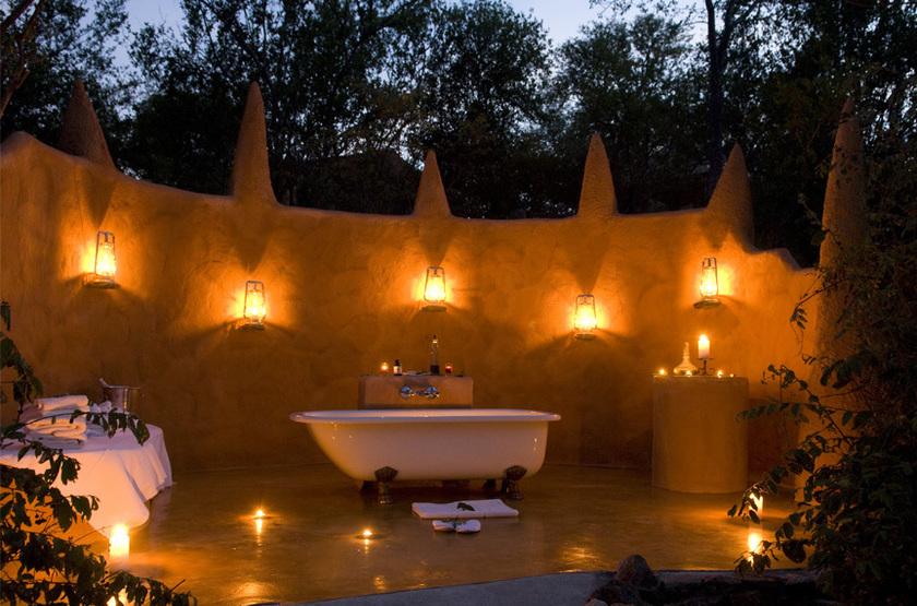 Garonga et Little Garonga Safari Camp, Afrique du Sud, salle de bains