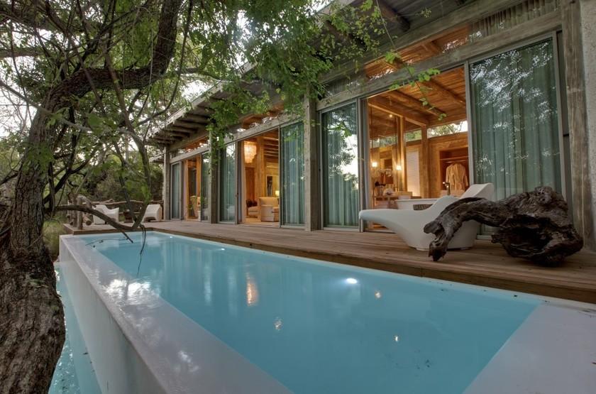 Kapama Karula, Afrique du Sud, piscine privée suite