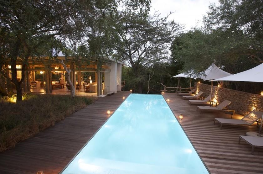 Kapama Karula, Afrique du Sud, piscine