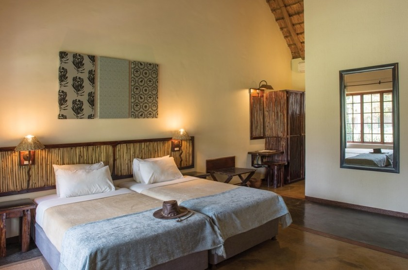 Hippo Hollow Country Estate, Hazyview, Afrique du Sud, chambre
