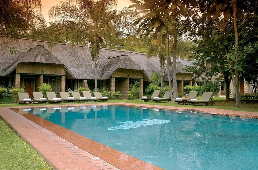 Hippo Hollow Country Estate, Hazyview, Afrique du Sud, piscine