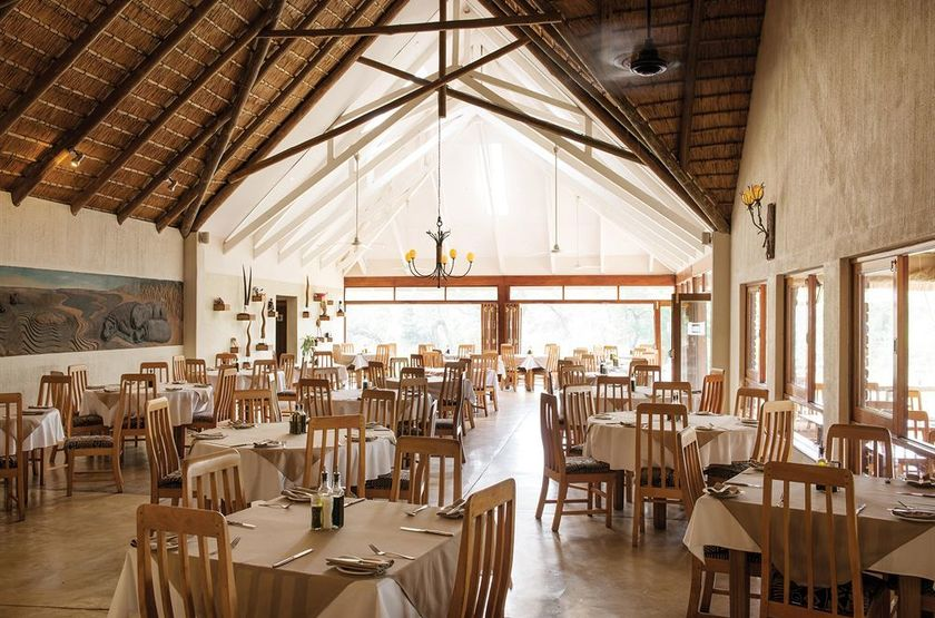 Hippo Hollow Country Estate, Hazyview, Afrique du Sud, restaurant