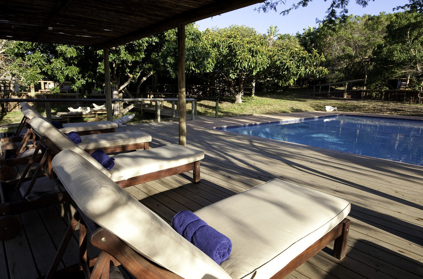 Rocktail Beach Camp, Maputaland, Afrique du Sud, piscine