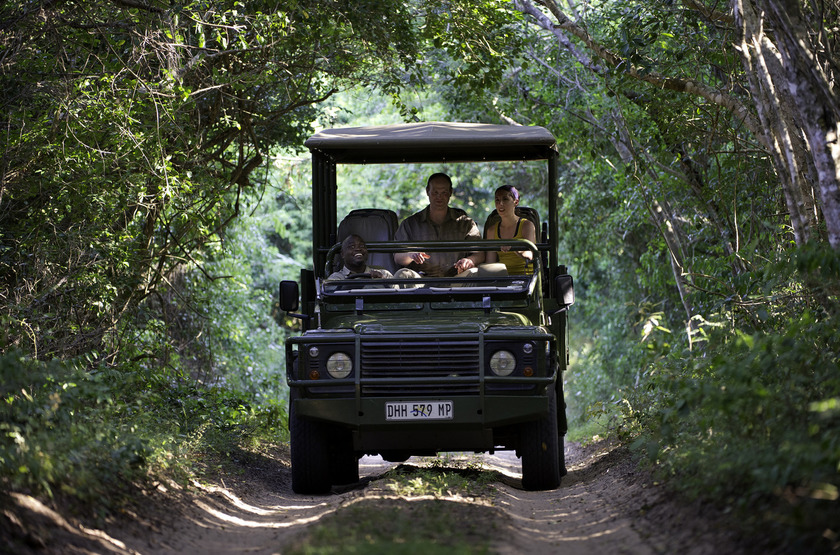Rocktail Beach Camp, Maputaland, Afrique du Sud, safari en 4x4