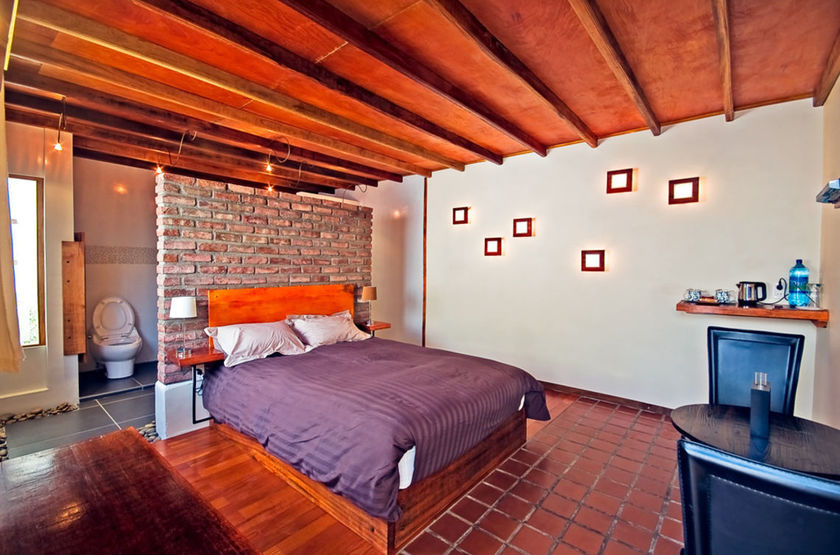 La Petite Porte, Uyuni, Bolivie, chambre
