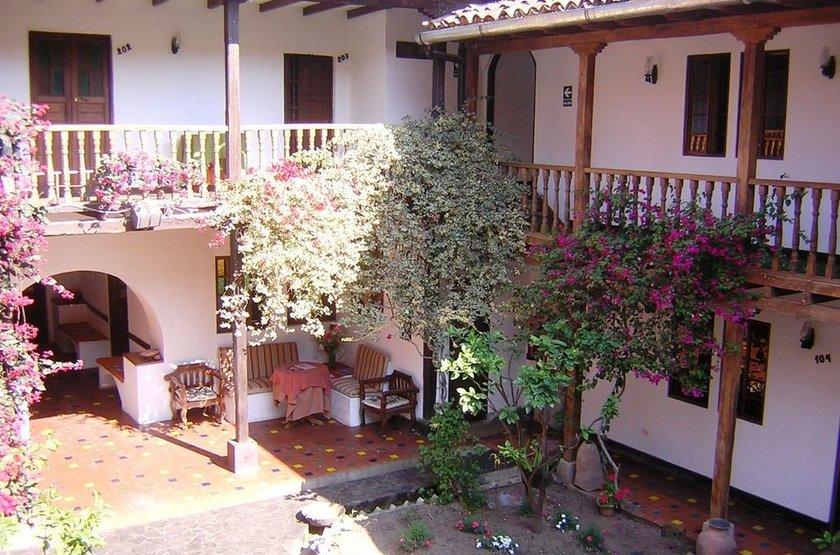 Casa Vieja Chachapoyas, Pérou, patio