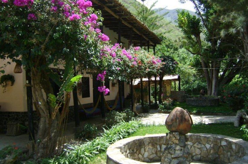 Estancia El Chillo Kuelap, Pérou, jardins