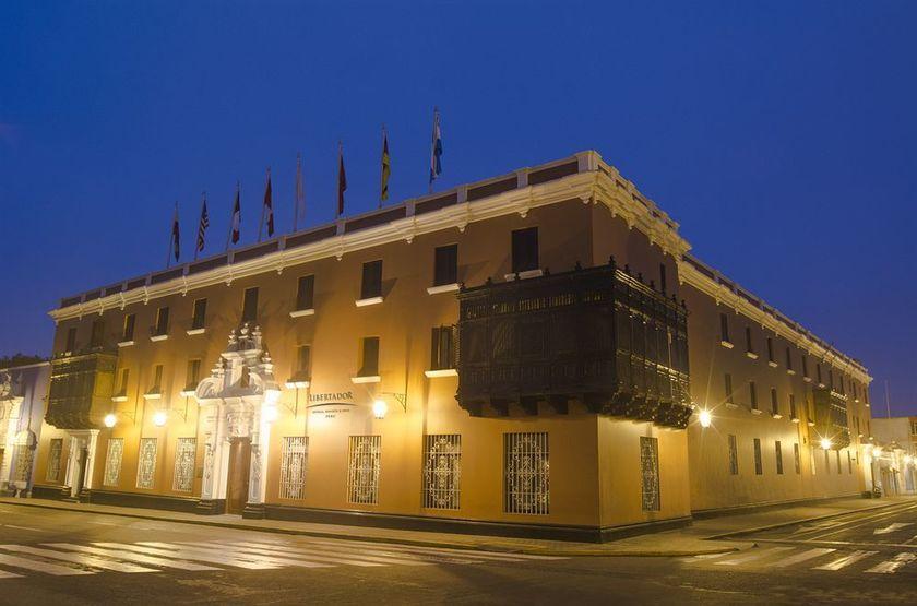 Libertador Plaza Mayor, Trujillo, Pérou, extérieur