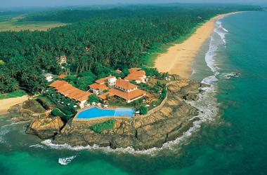 Saman villas areal view listing
