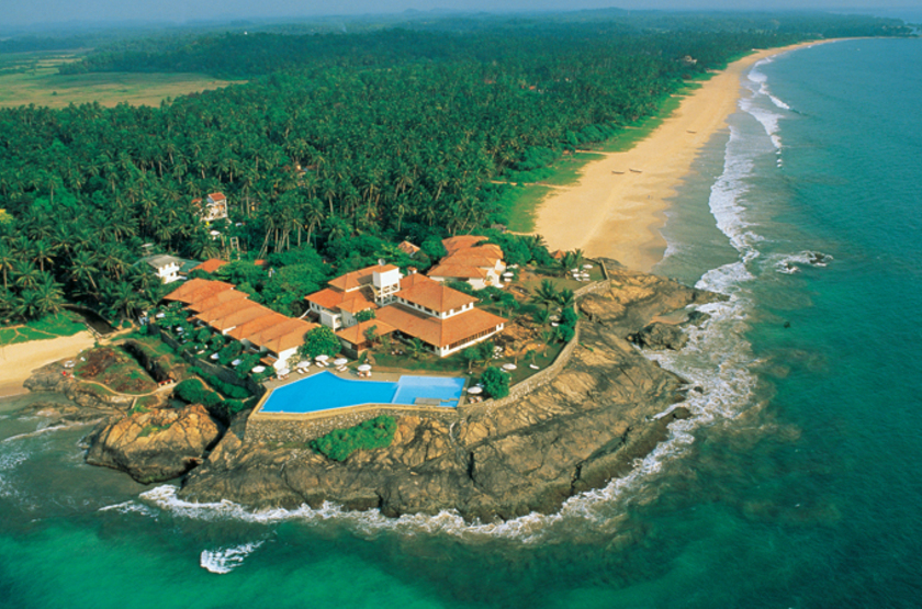 Saman Villas, Sri Lanka, vue aérienne,