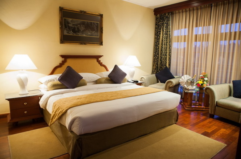 Mahaweli Reach Hotel, Sri Lanka, chambre