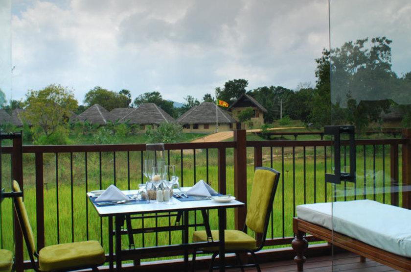 Jetwing Vil Uyana - Sirigiya, terrasse