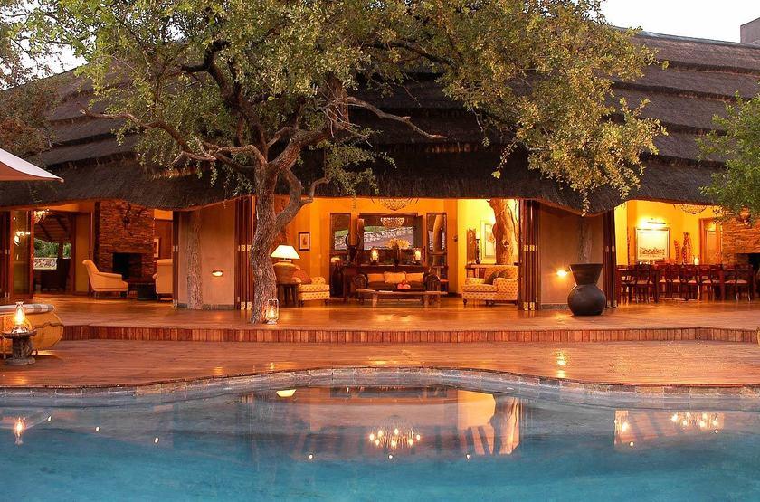 Tuningi Safari Lodge, Madikwe, Afrique du Sud, extérieur