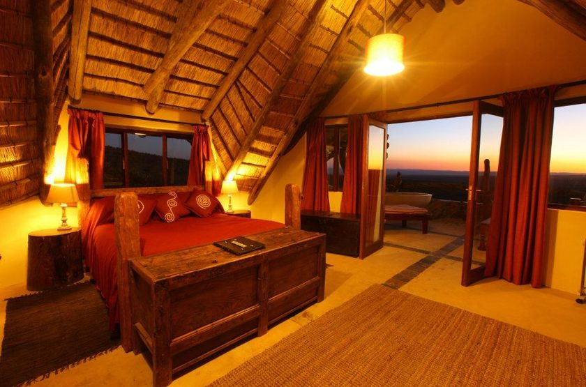 Ant's Hill and Ant's Nest, Waterberg, Afrique du Sud, chambre