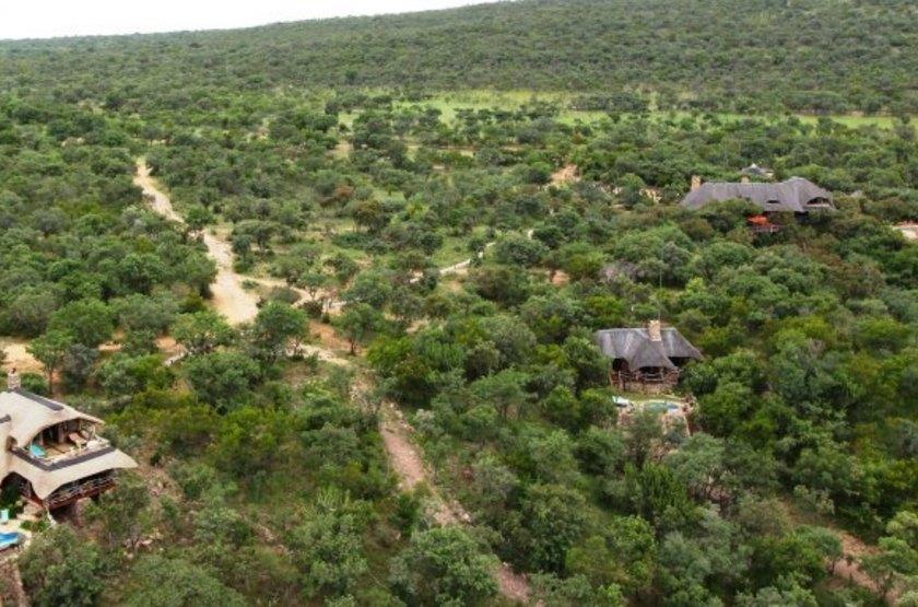 Ant's Hill and Ant's Nest, Waterberg, Afrique du Sud, vue aérienne