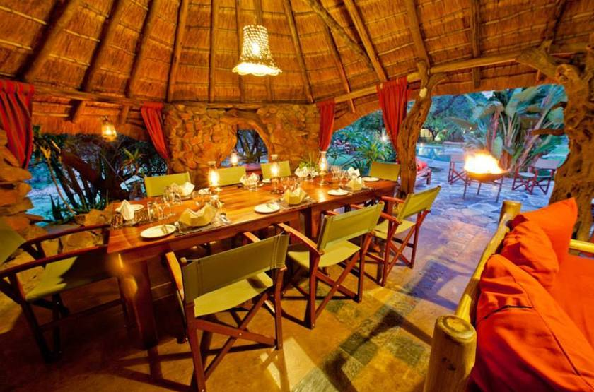 Ant's Hill and Ant's Nest, Waterberg, Afrique du Sud, restaurant