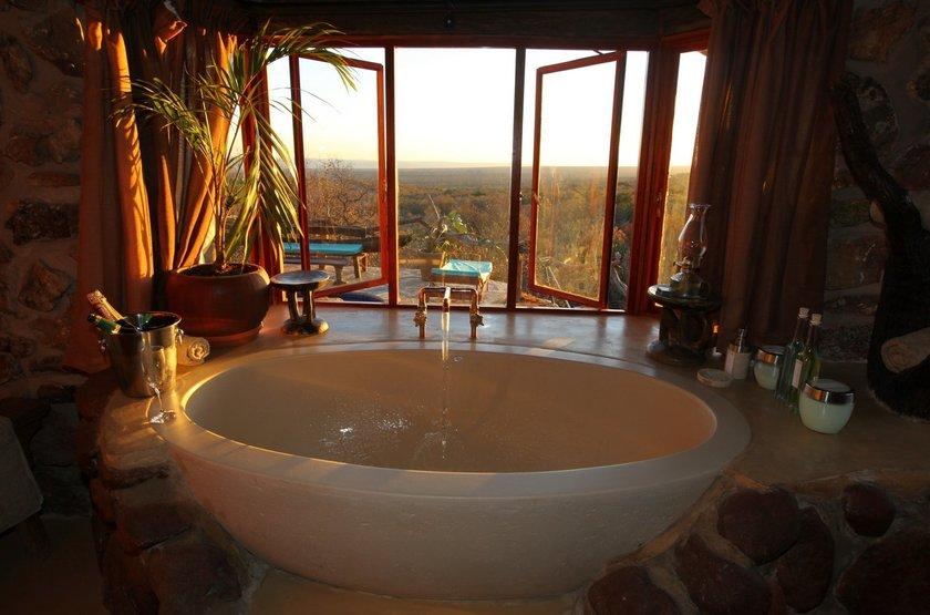 Ant's Hill and Ant's Nest, Waterberg, Afrique du Sud, salle de bains
