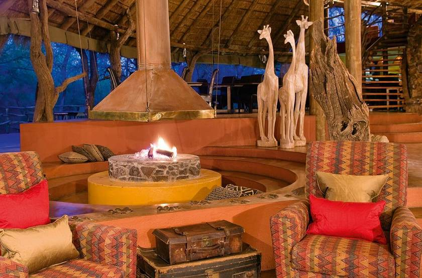 Jaci's Tree Lodge, Madikwe, Afrique du Sud, lounge