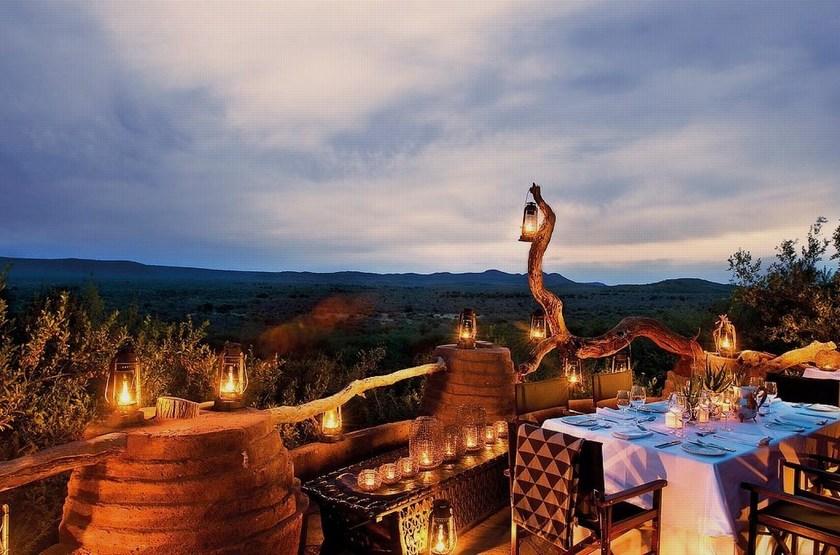 Madikwe Hills, Afrique du Sud, restaurant