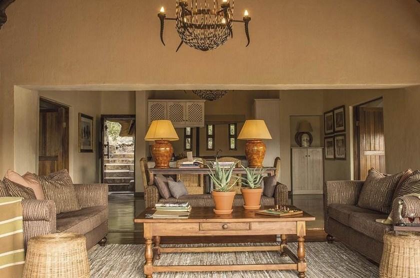 Madikwe Hills, Afrique du Sud, salon