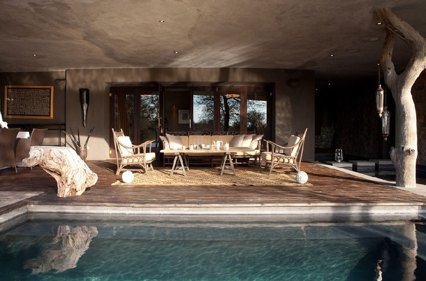 Chitwa Chitwa Safari Lodge, Sabi Sand, Afrique du Sud, piscine