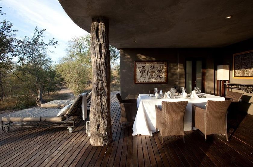 Chitwa Chitwa Safari Lodge, Sabi Sand, Afrique du Sud, restaurant