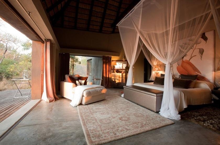 Chitwa Chitwa Safari Lodge, Sabi Sand, Afrique du Sud, chambre