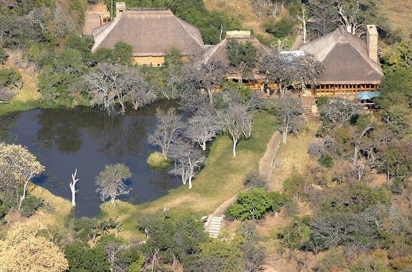 Camp Jabulani, Kapama, Afrique du Sud, vue extérieur